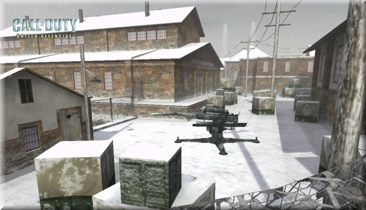 Call of Duty United Offensive Map uo_Harbor Loadingscreen