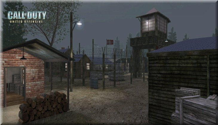Call of Duty United Offensive Map uo_Powcamp Loadingscreen