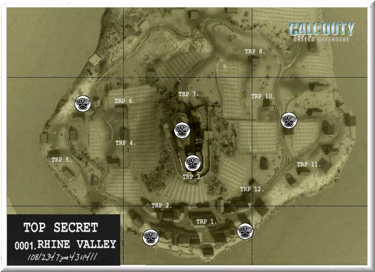 Call of Duty United Offensive Map Rhinevalley DOM