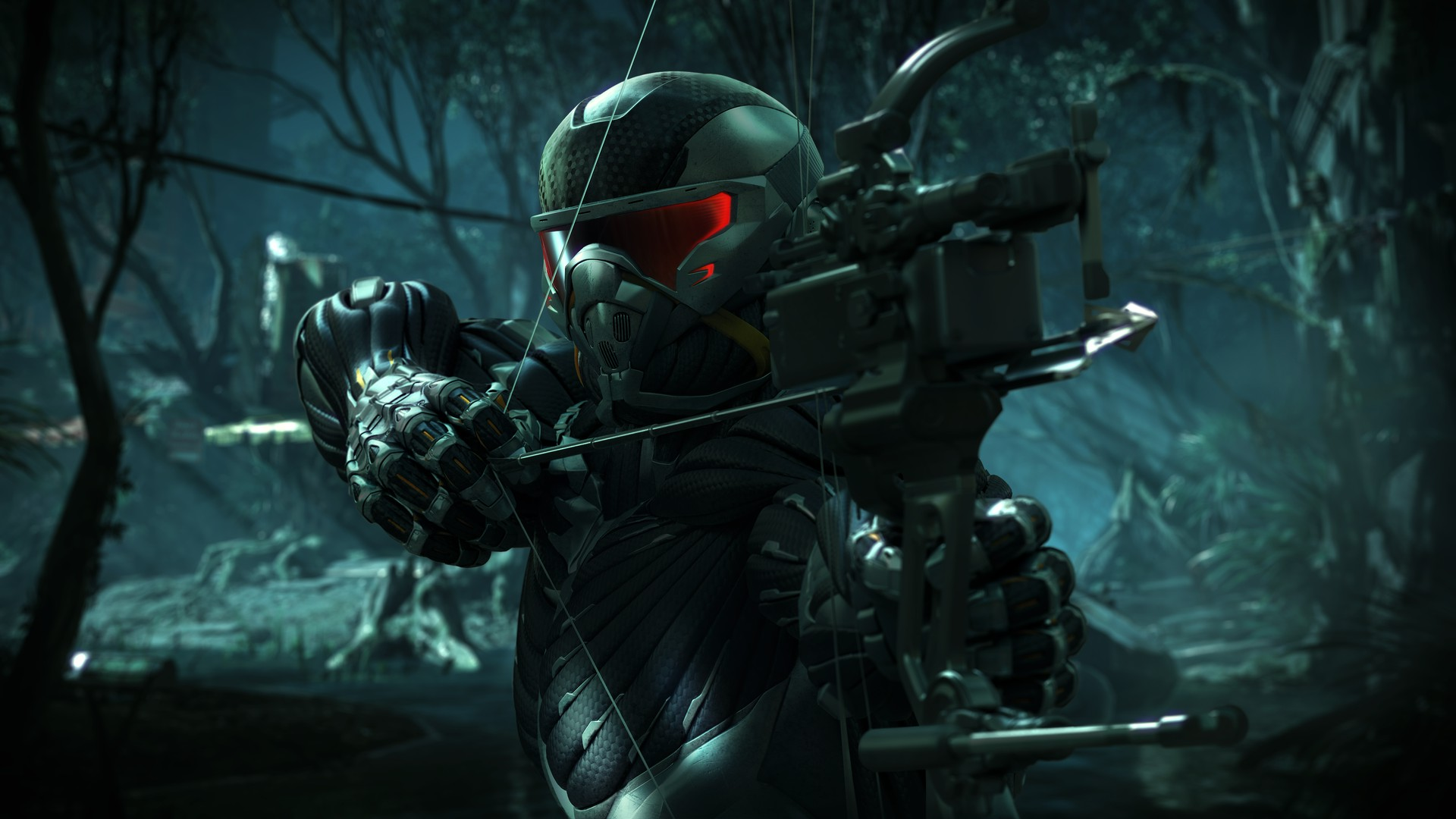 Crysis 3 HD Wallpapers Prophet and predator-bow