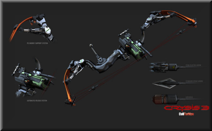 Crysis 3 Weapon Bow Kit