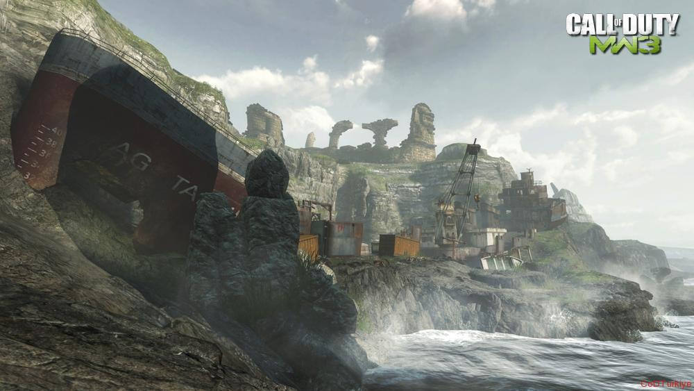 Modern Warfare 3 Map Aground