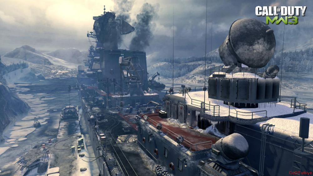 Modern Warfare 3 Map Arcticrecon