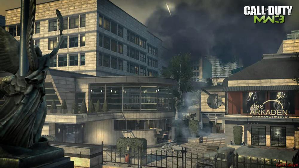 Modern Warfare 3 Map Arkaden