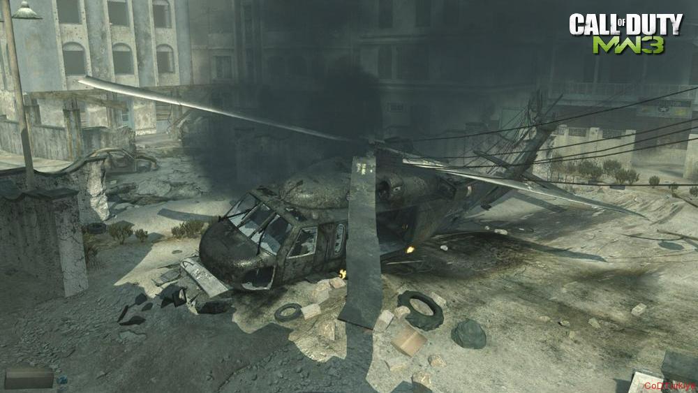 Modern Warfare 3 Map Bakaraa