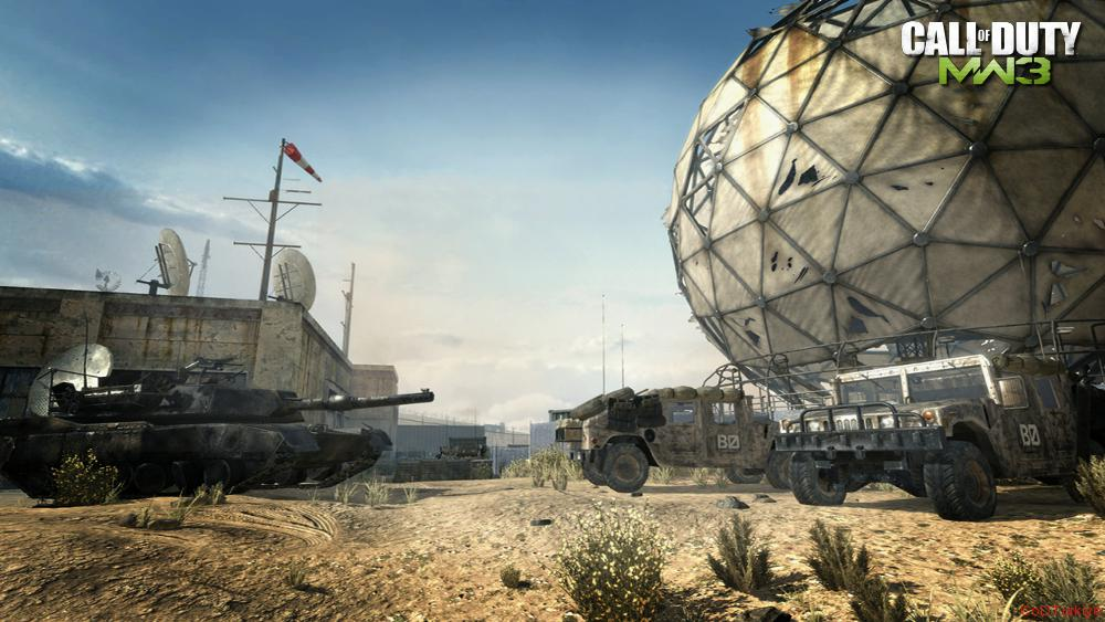 Modern Warfare 3 Map Dome