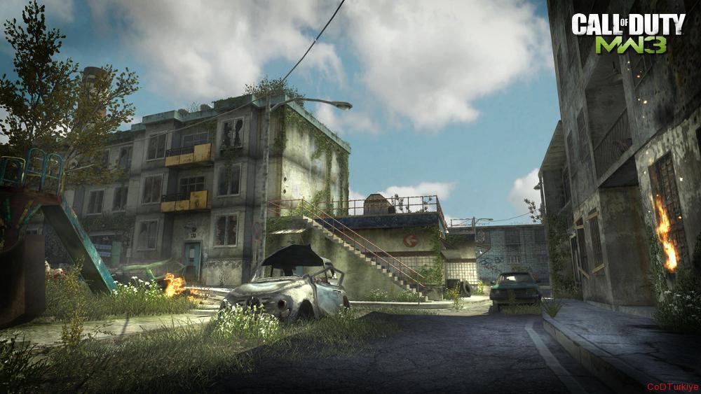 Modern Warfare 3 Map Fallen
