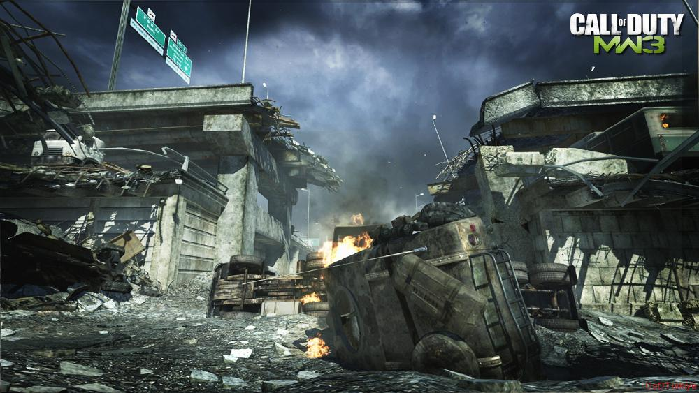Modern Warfare 3 Map Interchange