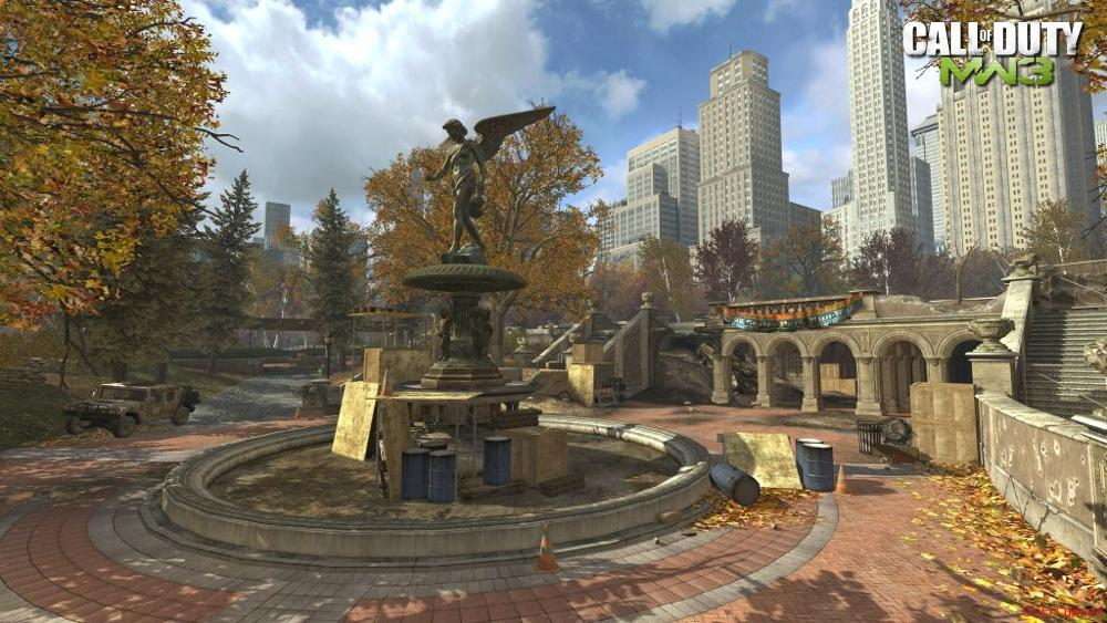 Modern Warfare 3 Map Liberation