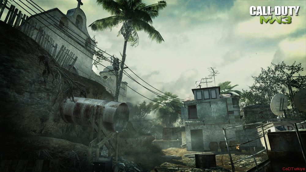 Modern Warfare 3 Map Mission
