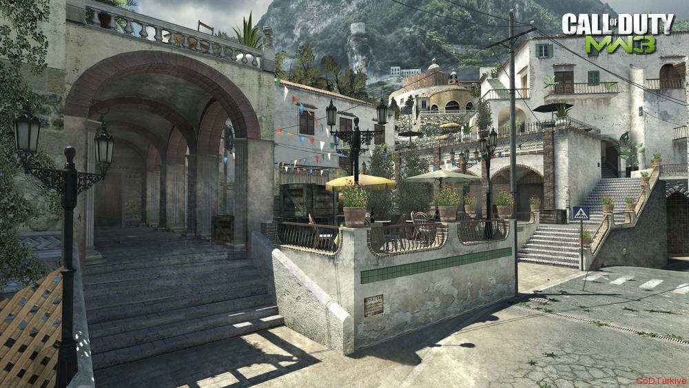 Modern Warfare 3 Map Piazza