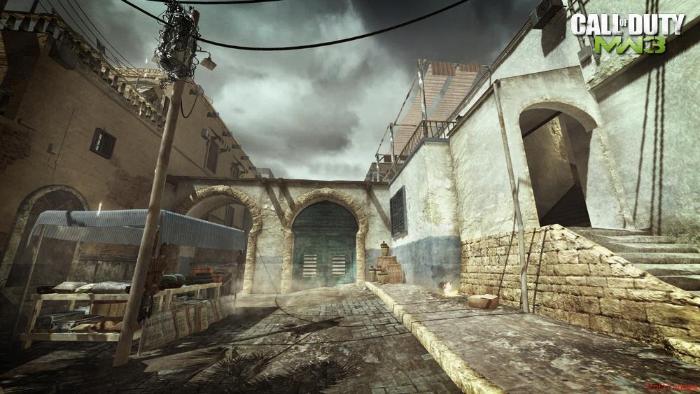 Modern Warfare 3 Map Seatown