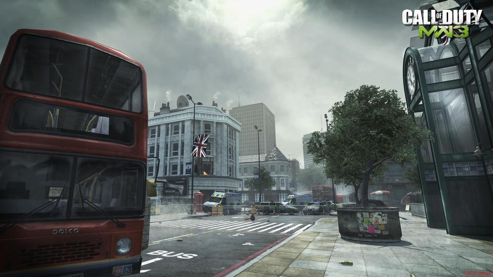 Modern Warfare 3 Map Underground