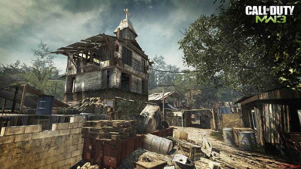 Modern Warfare 3 Map Village