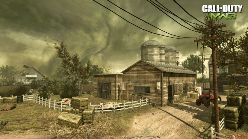 Modern Warfare 3 Map Vortex