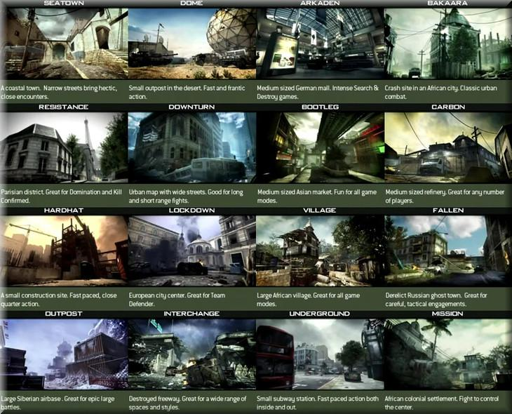 Modern Warfare 3 Map