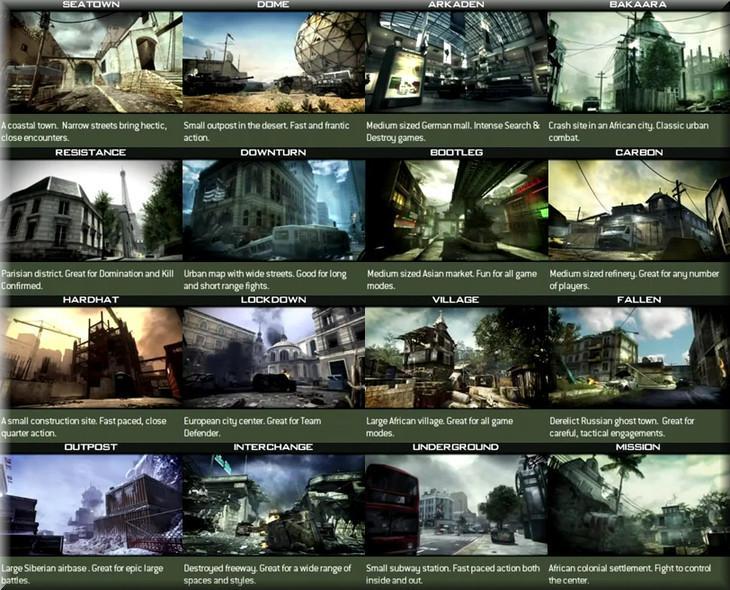 Modern Warfare 3 Map