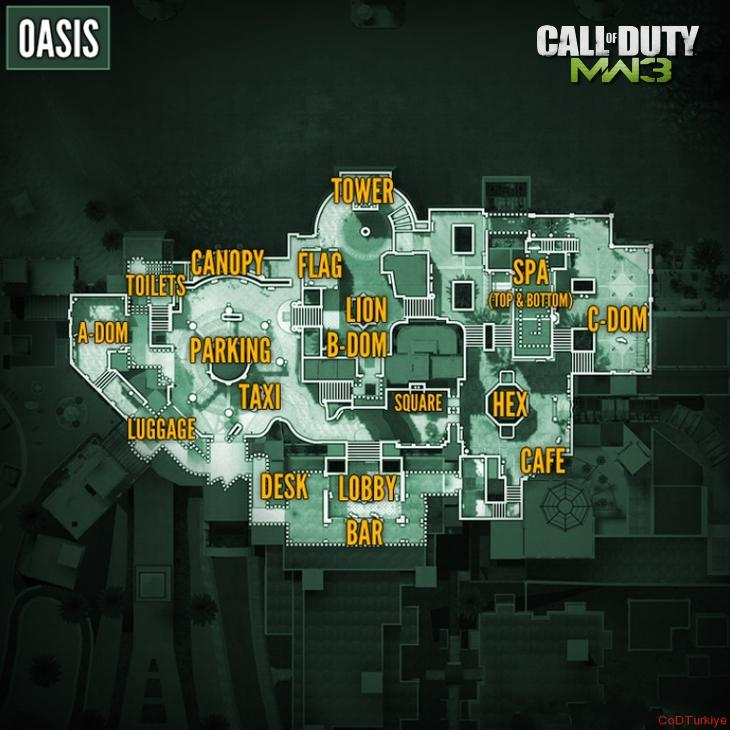 MW3 Map Oasis
