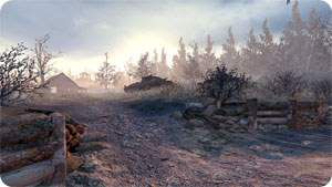 Call of Duty 6 : Modern Warfare 2 Multiplayer Harita Maps Wasteland