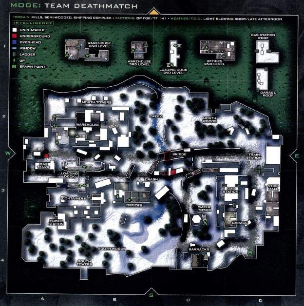 Call of Duty 6 : Modern Warfare 2 Multiplayer Harita Maps Derail