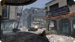 Call of Duty 6 : Modern Warfare 2 Multiplayer Harita Maps İnvasion