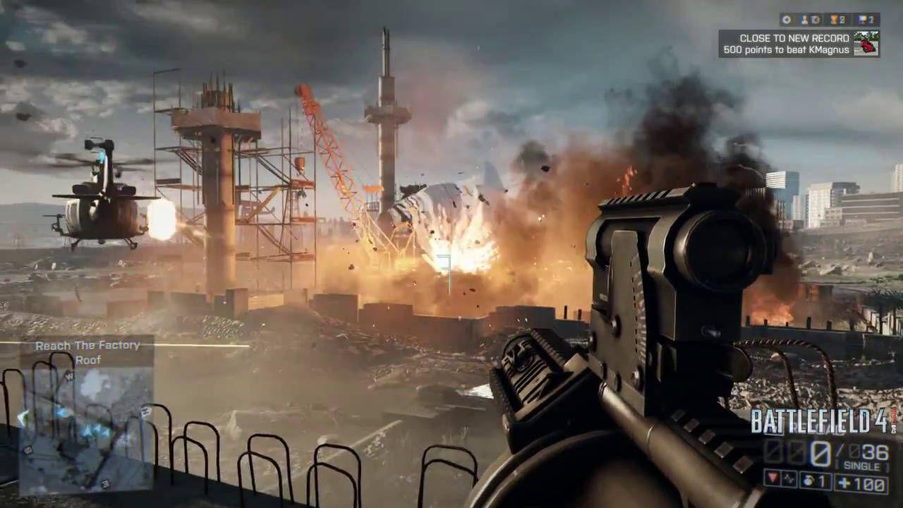 Battlefield 4 Gameplay Screenshots