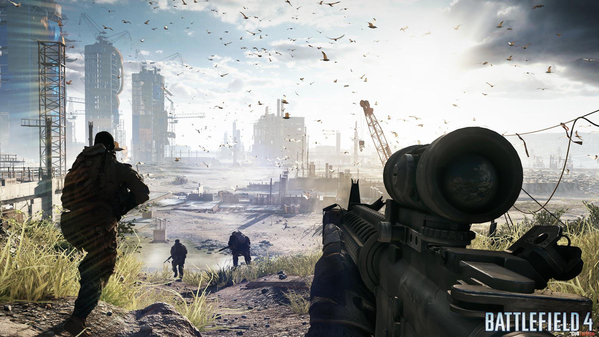 Battlefield 4 Wallpapers Construction