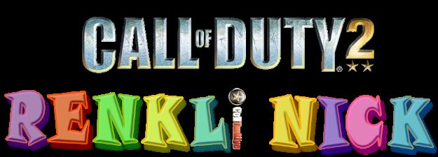 Call Of Duty 2 Renkli Nick