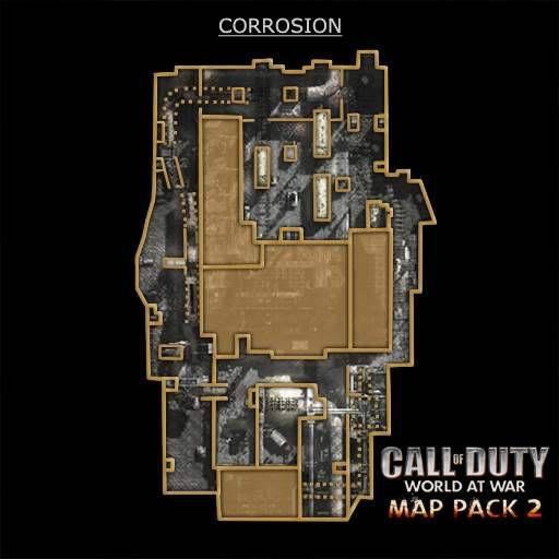 Call of Duty 5 World at War Multiplayer Haritalar Maps Corrosion