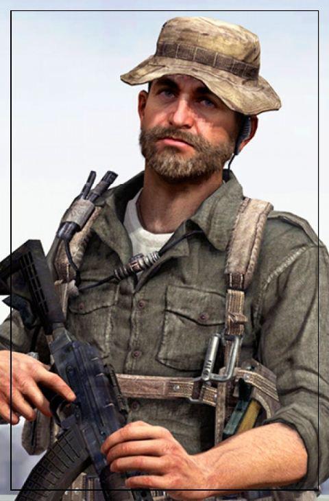 Modern Warfare Karakterleri Captain Price