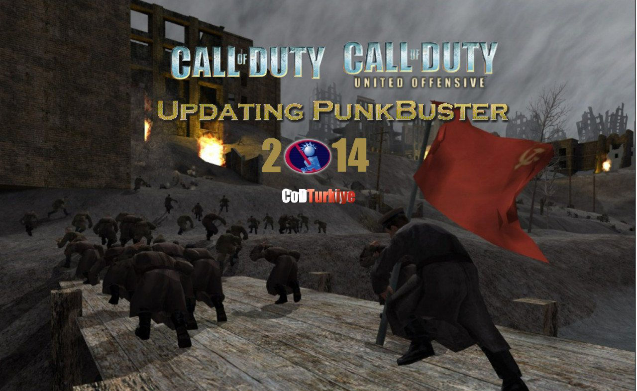 Call of Duty ve Call of Duty United Offensive Punkbuster Update 2014