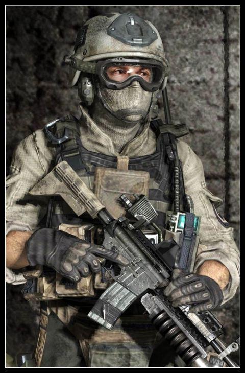 Call of Duty Karakteri Gary 'Roach' Sanderson
