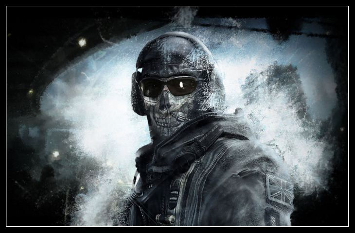 Modern Warfare Karakterleri Simon 'Ghost' Riley