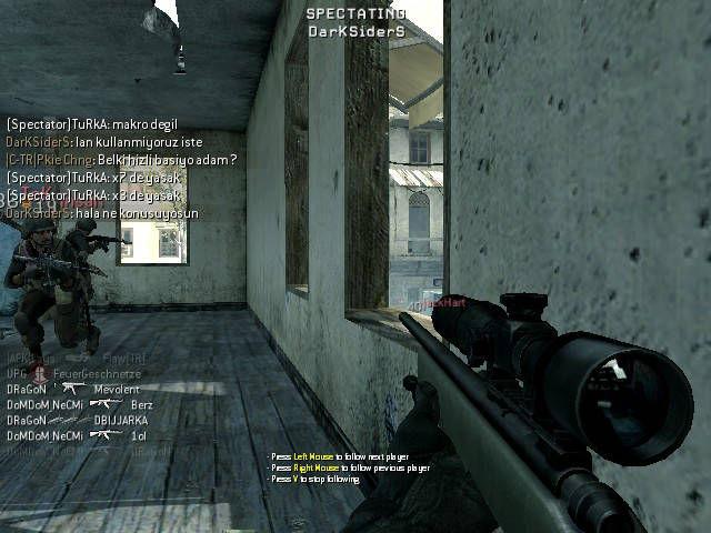 Call of Duty 4 Macro Kulanımı