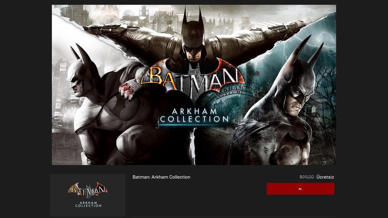 Batman: Arkham Collection Kampanya