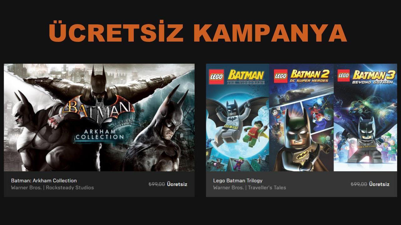 Batman: Arkham Collection, LEGO Batman Trilogy Pack Kampanya
