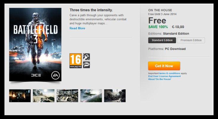 Battlefield 3 Free Kampanya