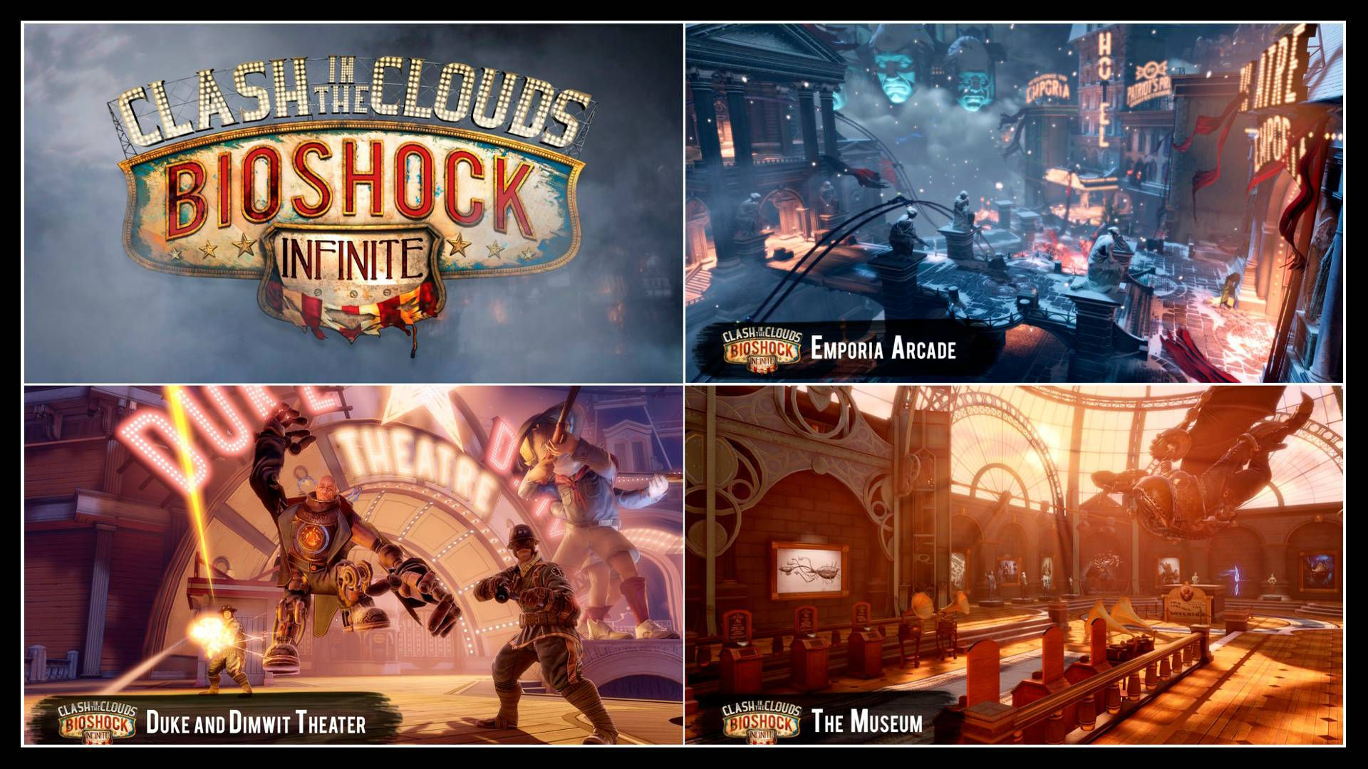 Bioshock Infinite Clash in the Clouds İnceleme