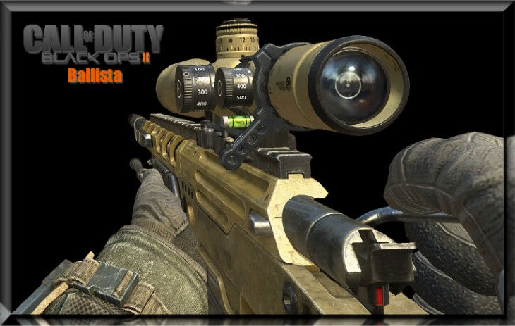Black Ops 2 Ballista Quickscope