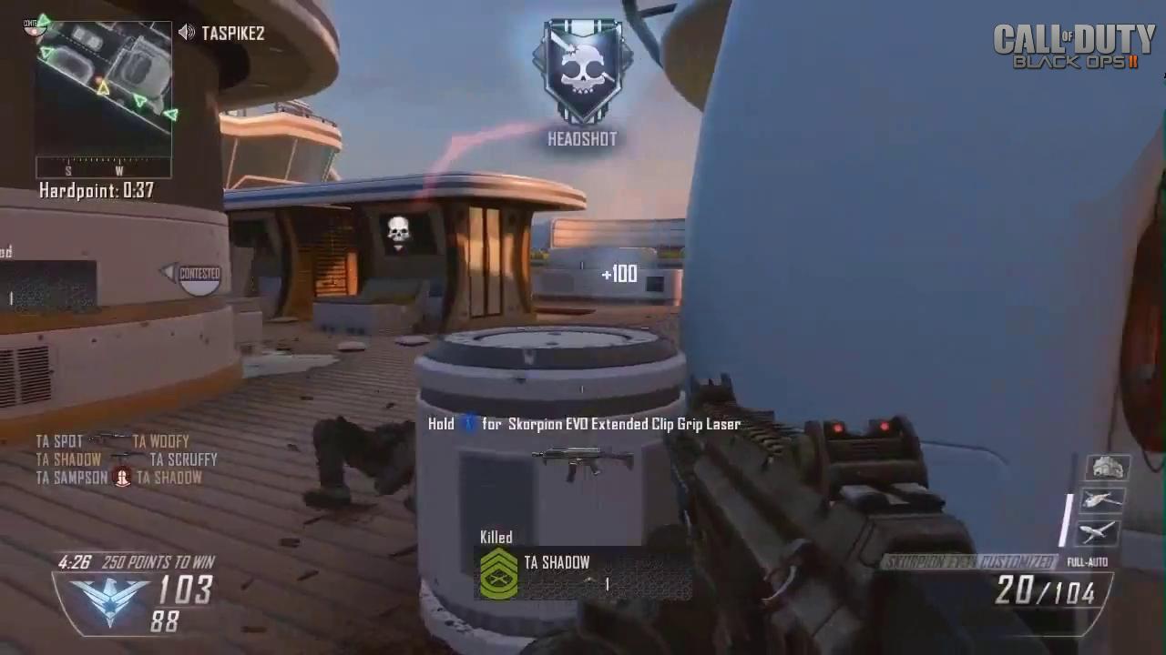 Black Ops 2 Gameplay Ekran Görüntüleri