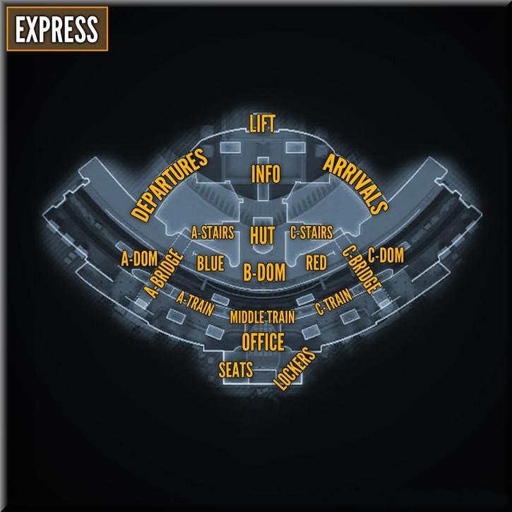 Call of Duty Black Ops 2 Maps Taktik Görünüm - Express