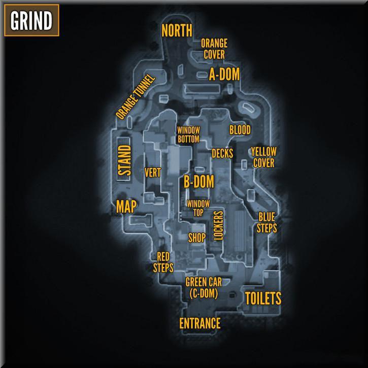 Call of Duty Black Ops 2 Maps Taktik Görünüm - Grind