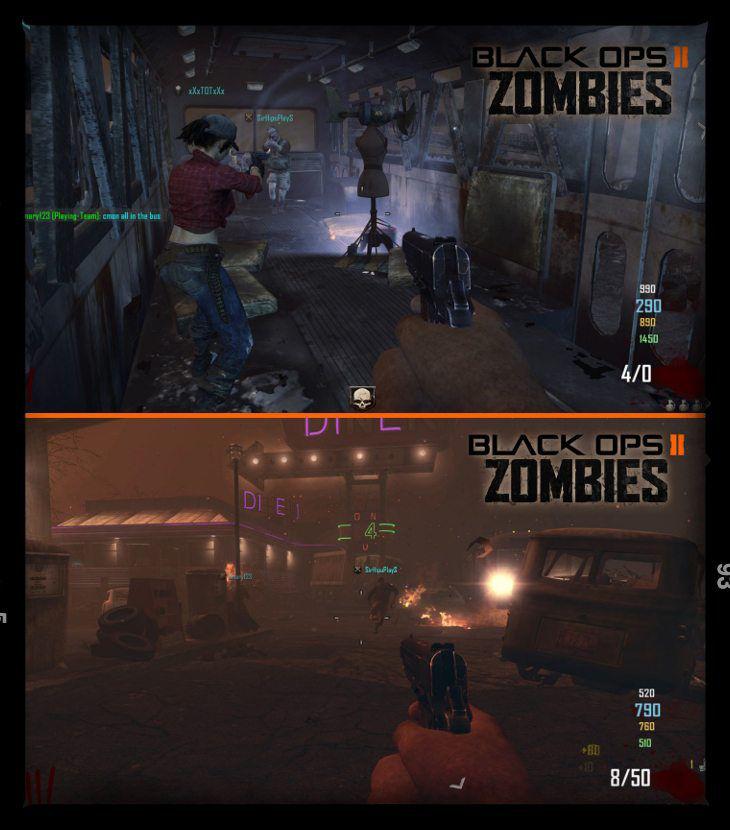 Black Ops 2 Zombie Mod Oynamak