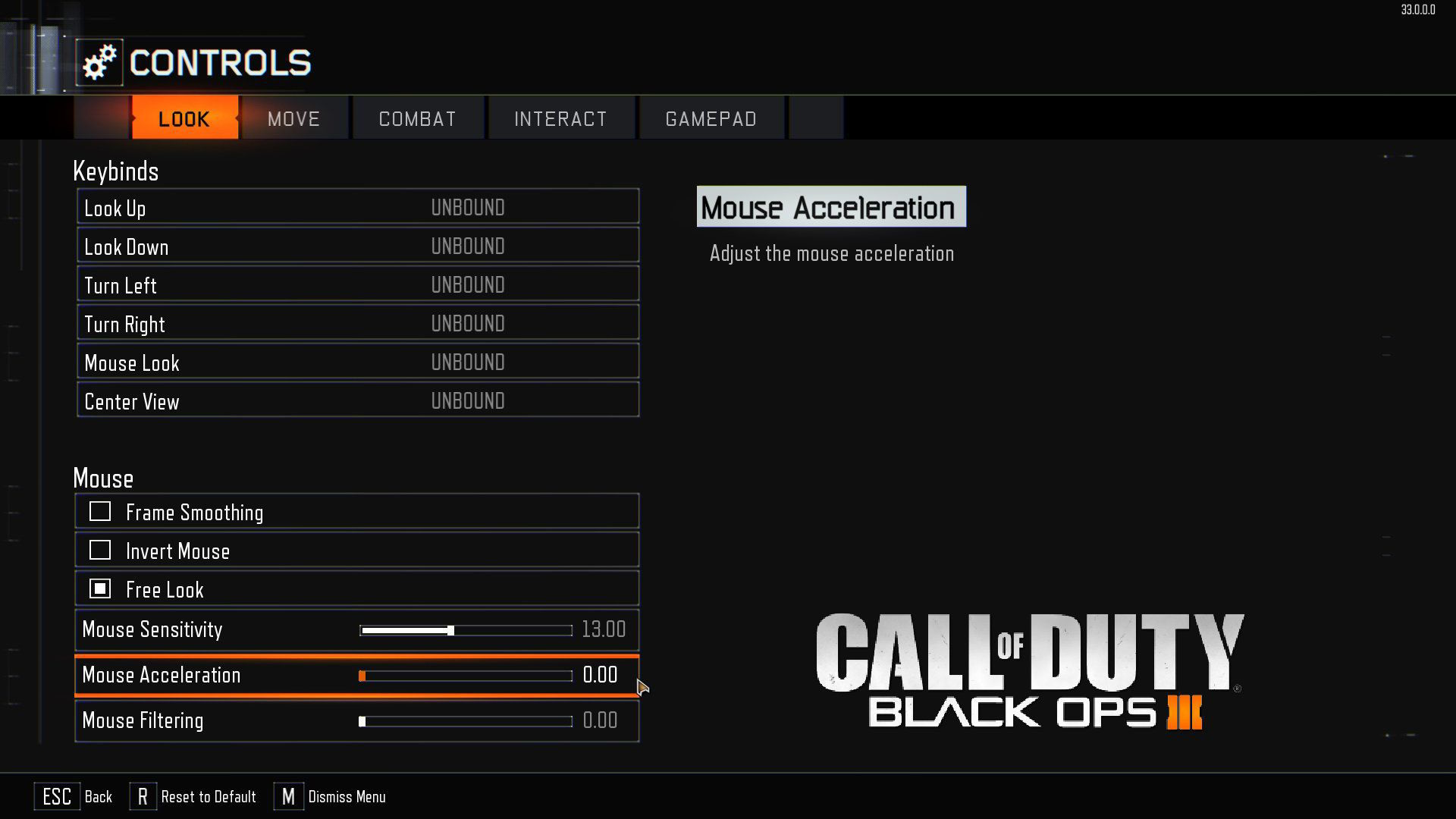 Black Ops 3 Mouse/Fare Kasma Sorunu Çözümü