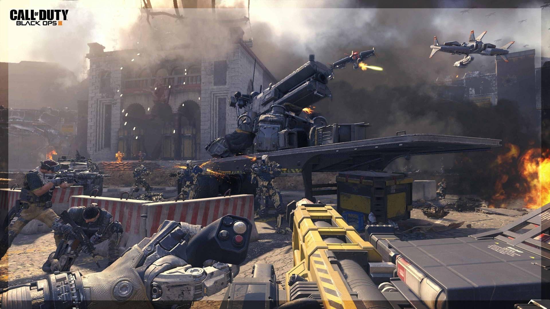 Black Ops 3 Ekran Görüntüsü Street Battle