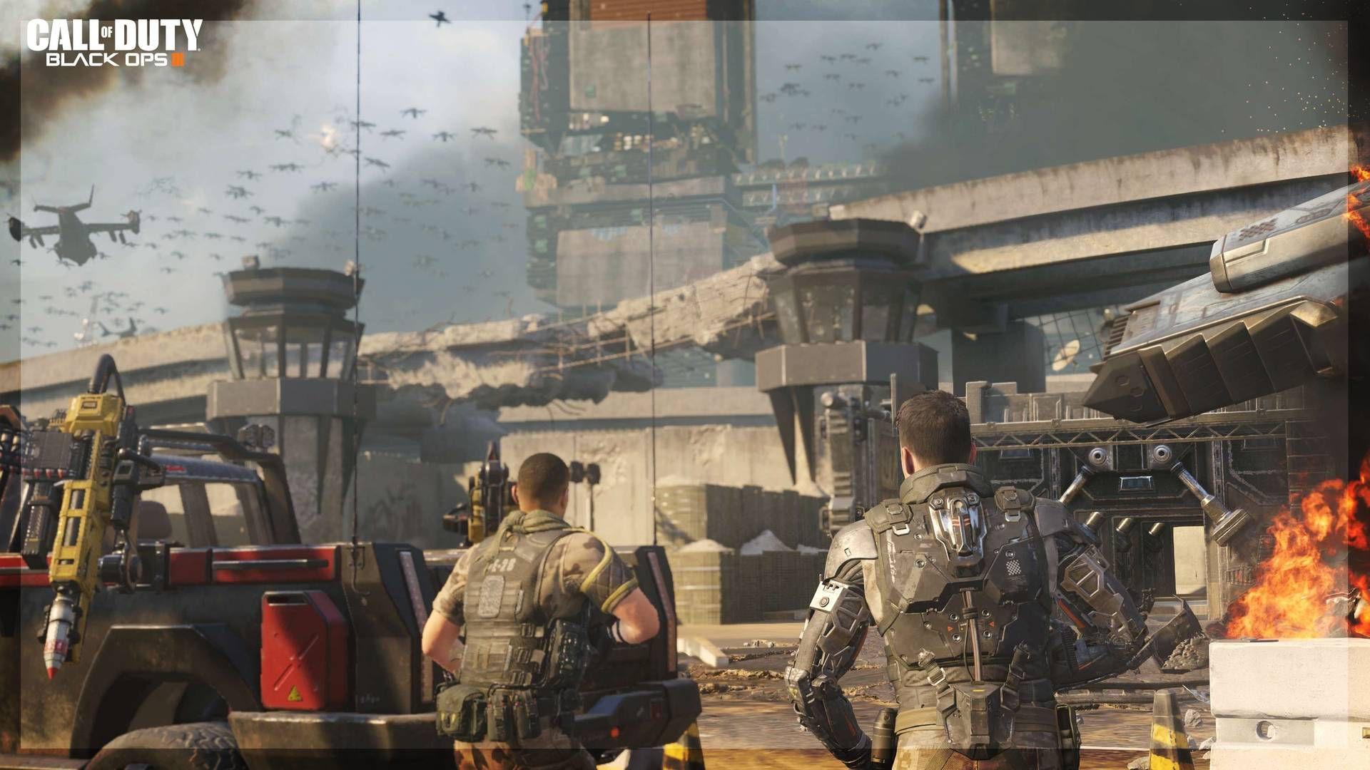 Black Ops 3 Ekran Görüntüsü Under Siege