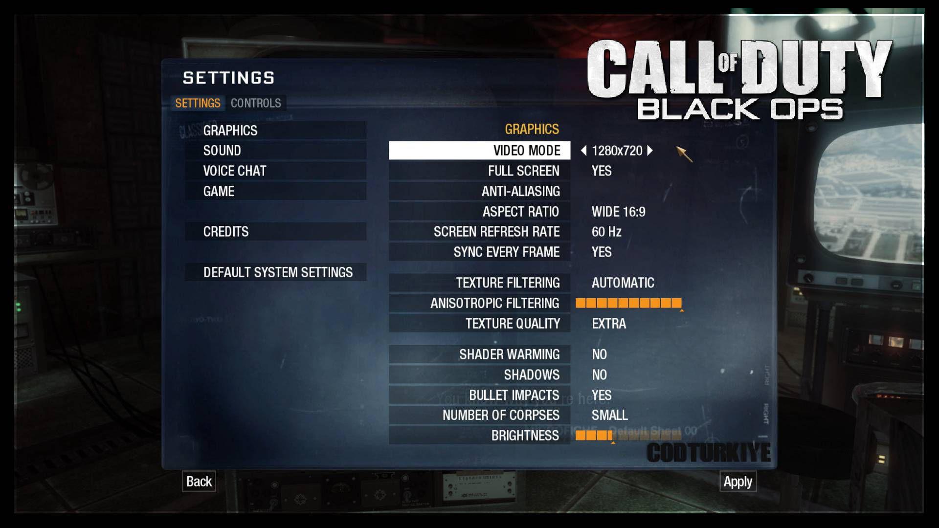 Call of Duty Black ops Akıcı Oynama Önerileri