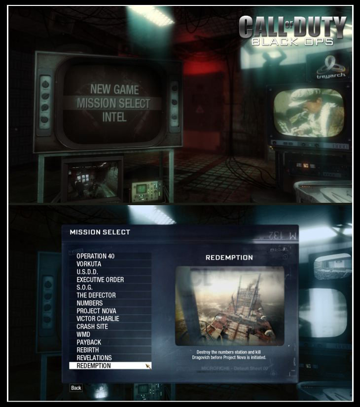 Call of Duty 7 Black Ops Save Game
