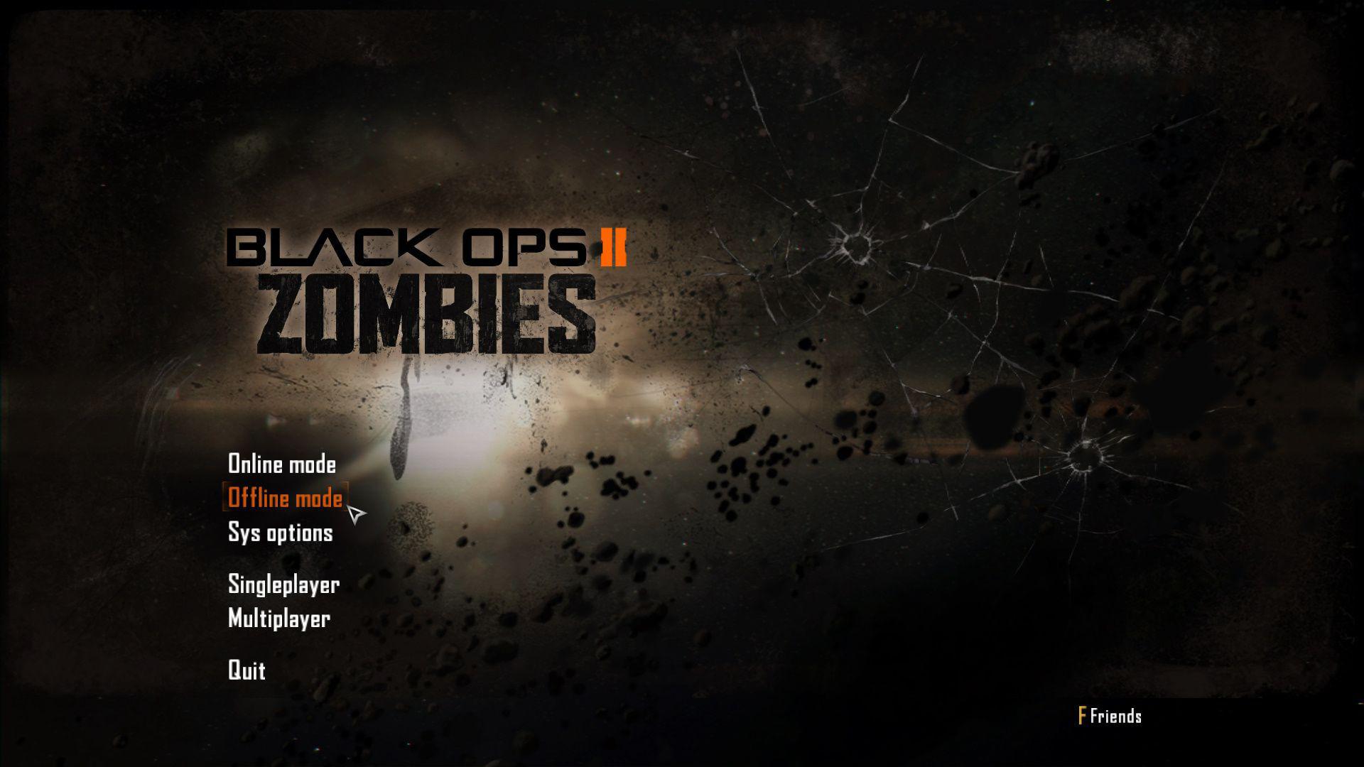Black Ops 2 Offline Zombi ve Botlu Oynama