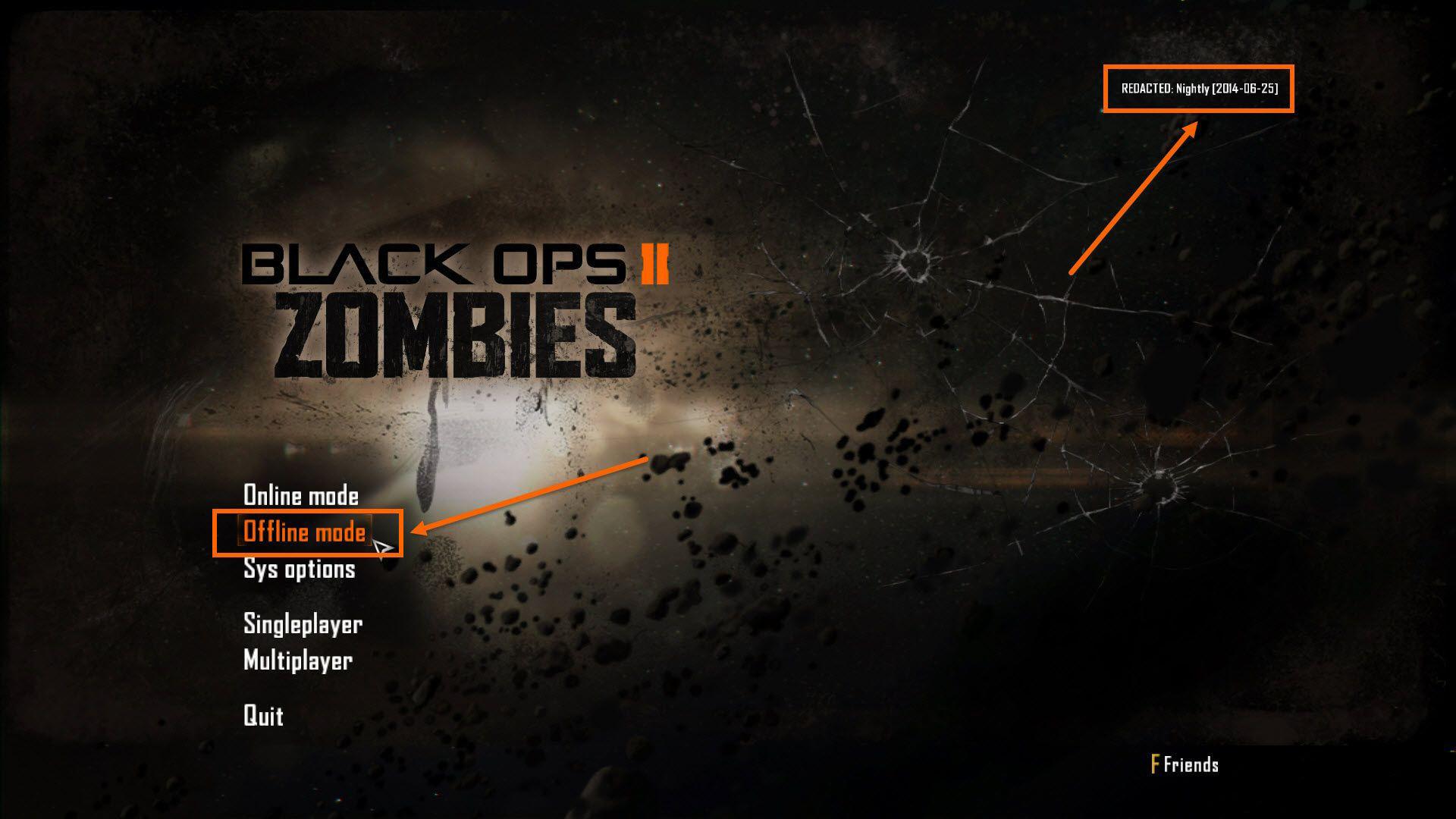 Black Ops 2 Offline Zombie Oynama